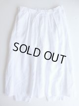 AUGUSTE-PRESENTATION   Pajama Lookスカートパンツ WHITE