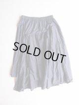 TISSU W-TISSU Origami-Skirt ネイビー