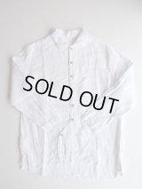 AUGUSTE-PRESENTATION   Pajama Look長袖前開きシャツ WHITE