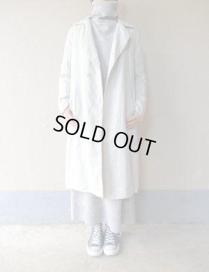 画像1: AUGUSTE-PRESENTATION Pajama Look 中綿コート LIGHT GREY