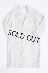 AUGUSTE-PRESENTATION Pajama Look リネンチェスターコート LIGHT GREY