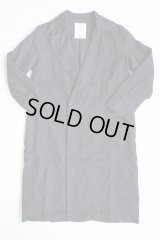 AUGUSTE-PRESENTATION Pajama Look リネンチェスターコート BLACK