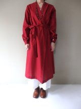 BRENA ROBE COAT GARNET