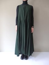 【SALE20%OFF】 Veritecoeur Dyed Gingham One-piece GREENCHK