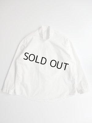 画像1: NO CONTROL AIR 60/1スーピマコットンタイプライタースタンドカラーシャツ Off White